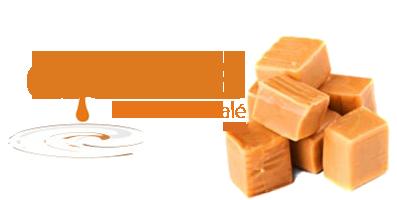 caramel cu unt sarat